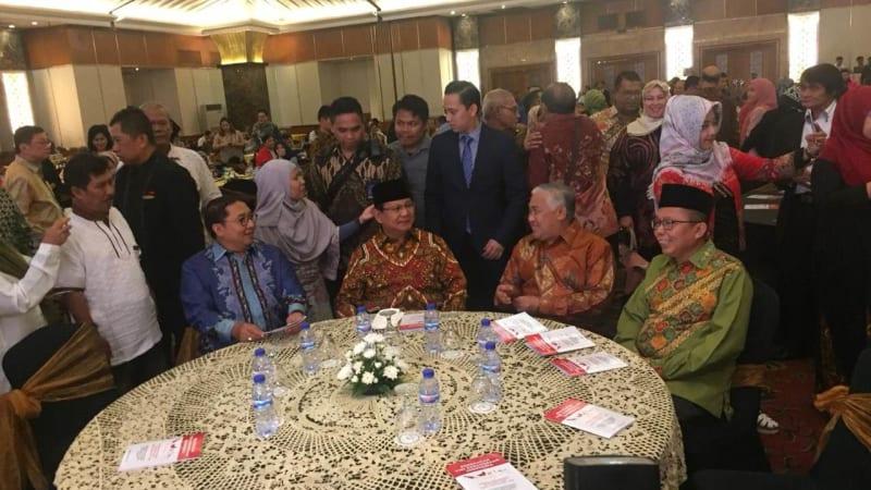 Prabowo Subianto , Din Syamsudin