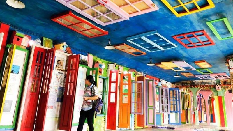 Museum Kata Andrea Hirata dibuat warna-warni