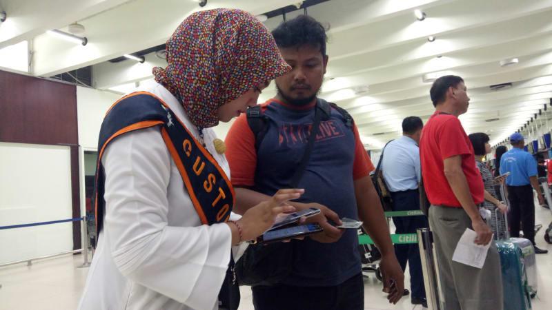 Mobile Assistant Check-In Bandara Soetta