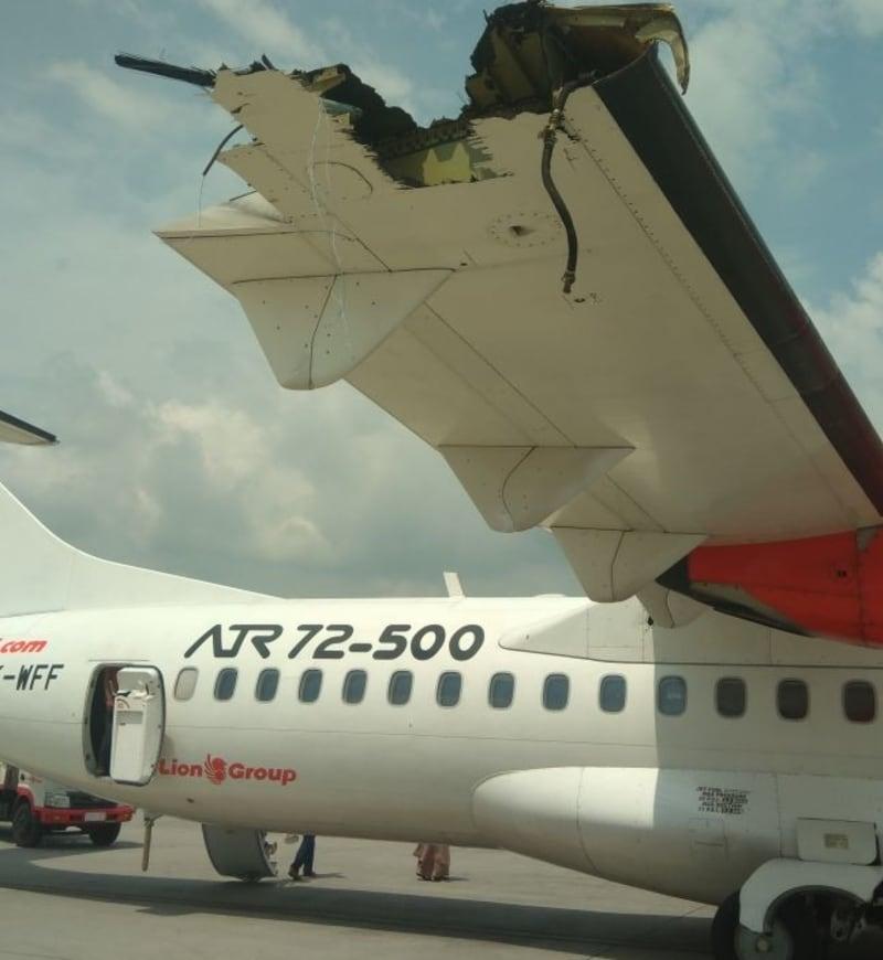 Kecelakaan Lion Air dan Wings Air (NOT COV)