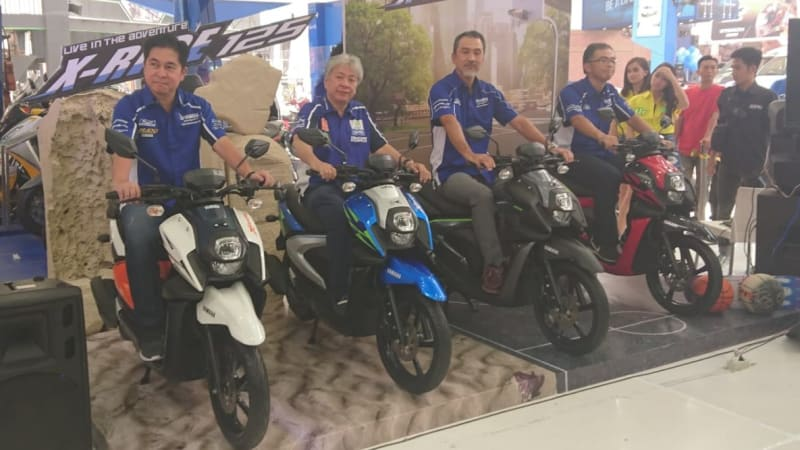 All New Yamaha X-Ride 2018