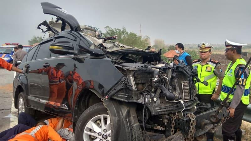 Kecelakaan di Tol Surabaya Mojokerto