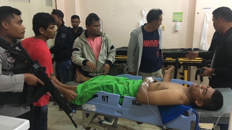 mantan polisi ditembak karena selundupkan ganja
