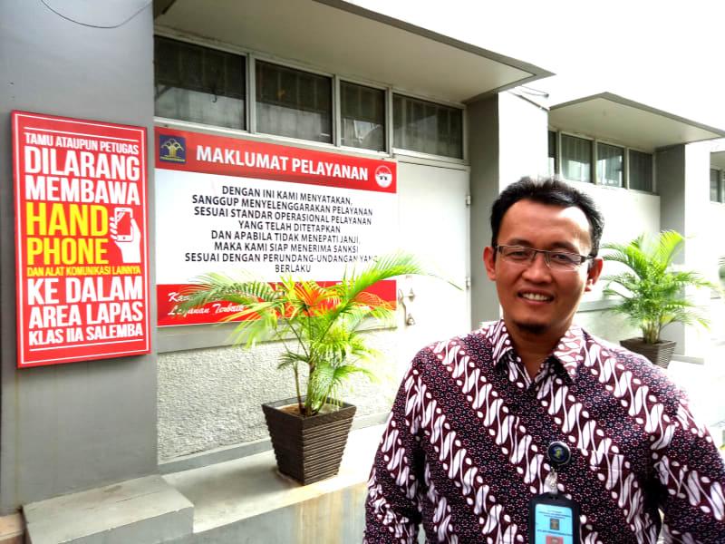 Akbar Hadi Kasubag Humas Ditjen Pemasyarakatan