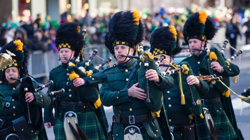Perayaan Saint Patrick's Day di New York