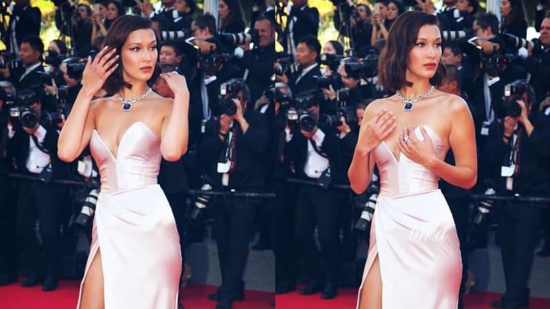 Bella Hadid di Cannes Film Festival 2017
