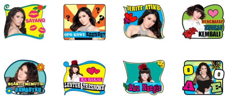 com-Sticker Lagu Via Vallen