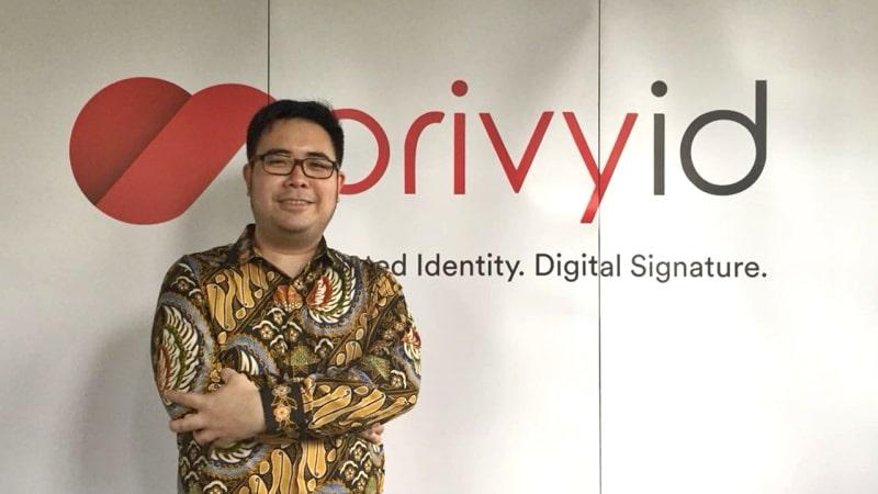 Marshall Pribadi, CEO PrivyID