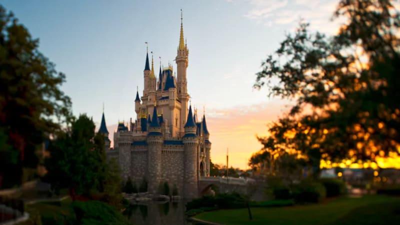 Istana Cinderella di Disneyland Florida