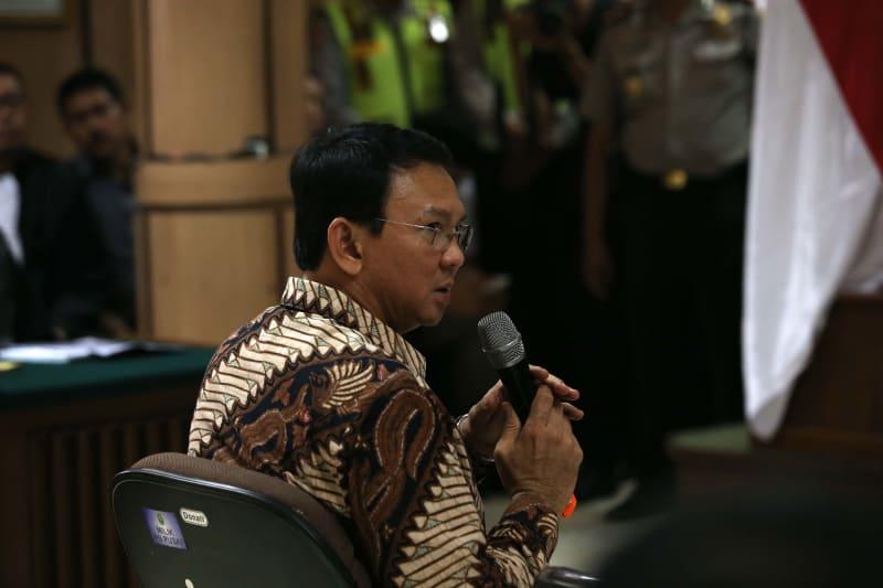Basuki T Purnama (Ahok) jalani sidang perdana kasus penistaan agama