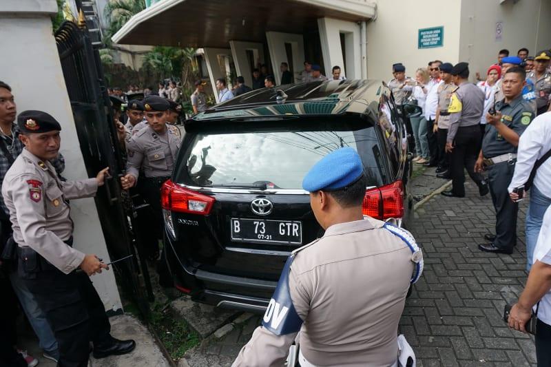 Sidang perdana Basuki T Purnama (Ahok) di PN Jakarta Utara
