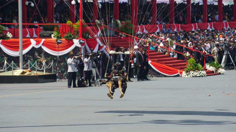 Peringatan HUT ke-72 TNI