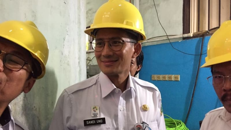 Wakil Gubernur DKI, Sandiaga Uno, Pusat Pelatihan Las