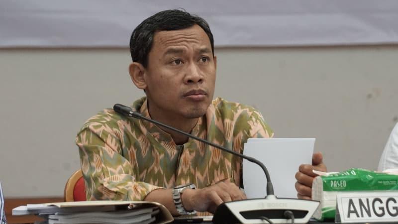 Anggota KPU Pramono Ubaid Tanthowi
