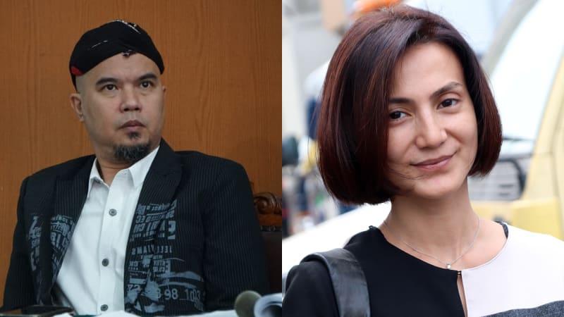 Ahmad Dhani dan Wanda Hamidah