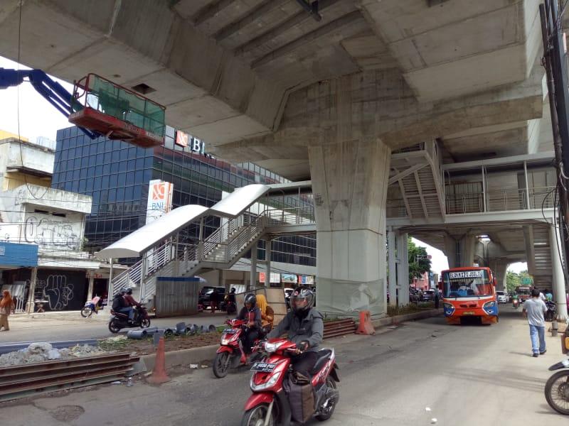 Pembangunan Jembatan Penyebrangan Orang (JPO)