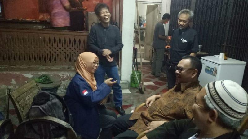 Sudirman Said kongkow bareng relawan Pilgub Jateng