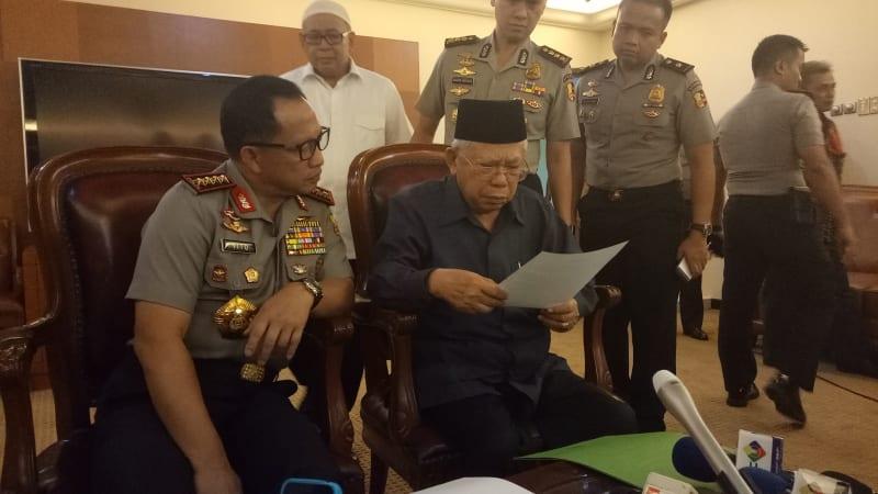 Konpres Kapolri dan Ketua Umum MUI
