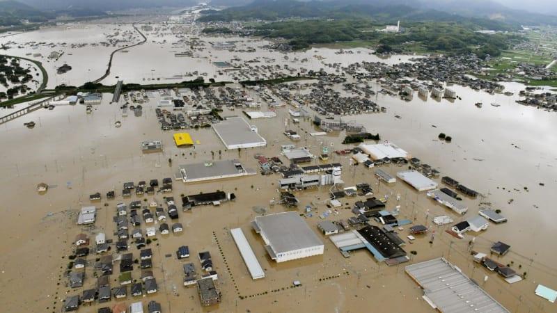 Banjir Melanda Jepang