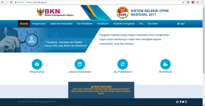 Laman Bkn Sulit Dibuka Tapi Situs Daftar Online Cpns Tetap Lancar Kumparan