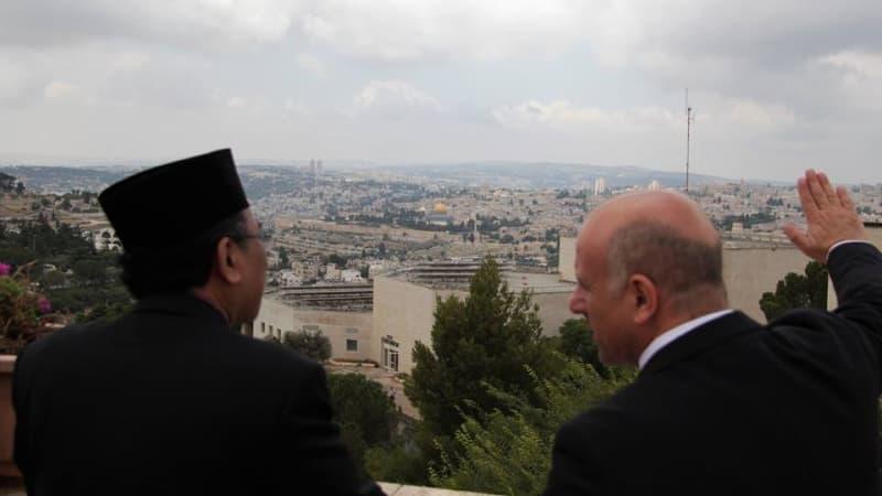 Gus Yahya di Israel