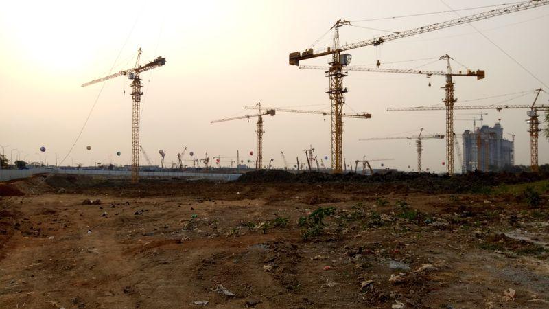 Area pembangunan Apartement Meikarta, Bekasi