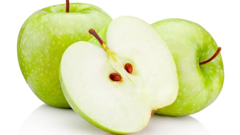 Biji buah apel