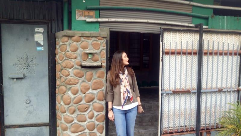 Luna Maya, mengunjungi kediaman mendiang Suzanna, Magelang