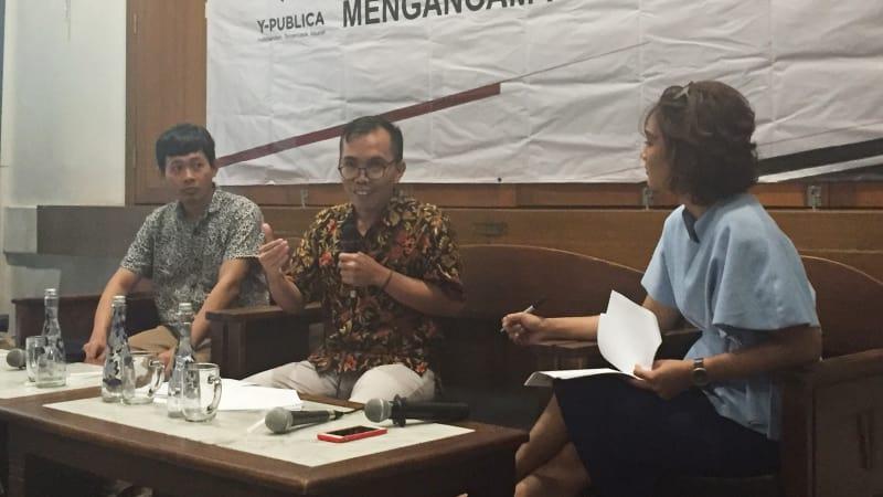 Konferensi pers, Rilis Survey Nasional Politik Kebohongan Mengancam Pemilu 2019, survei Y-Publica