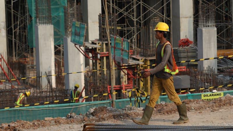 Pekerja Sektor Konstruksi