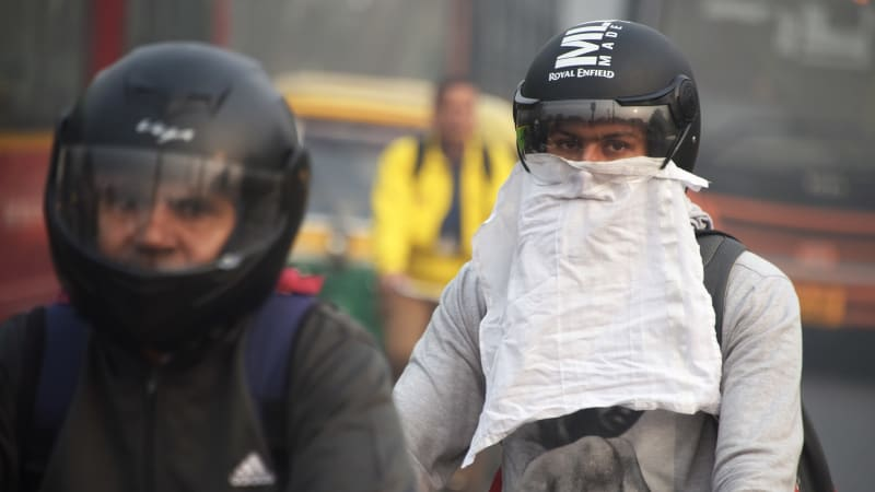 Kabut asap di India