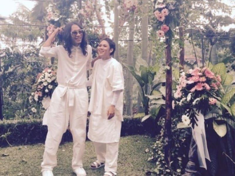 Pernikahan Aming Sugandhi dengan Evelyn Nada Anjani