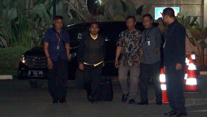 Bupati Bener Meriah, Ahmadi tiba di KPK