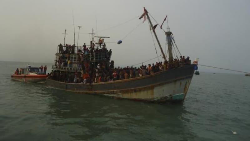 Ilustrasi korban perdagangan manusia