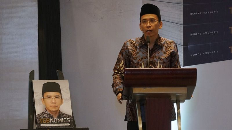 Peluncuran buku, TGBnomics, Lelang, Gempa Lombok