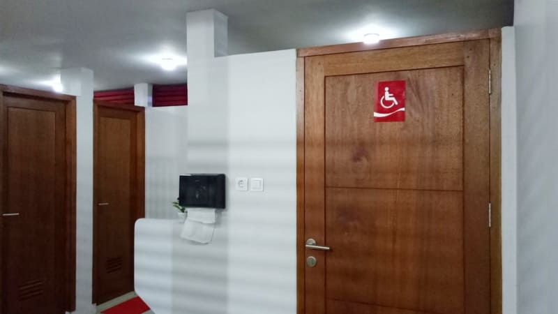 Toilet baru di Monas