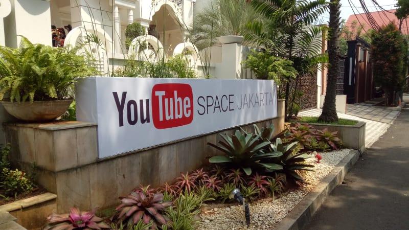 YouTube Space di Rumah Maroko, Jakarta