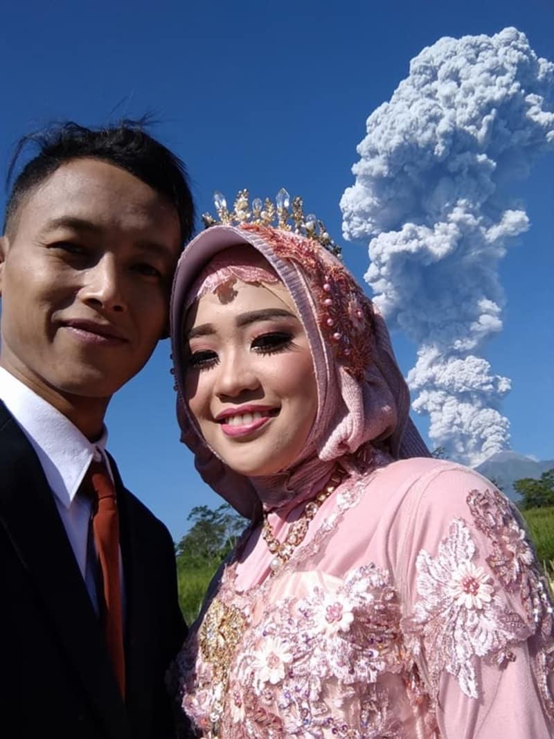 Prewedding Gunung Merapi