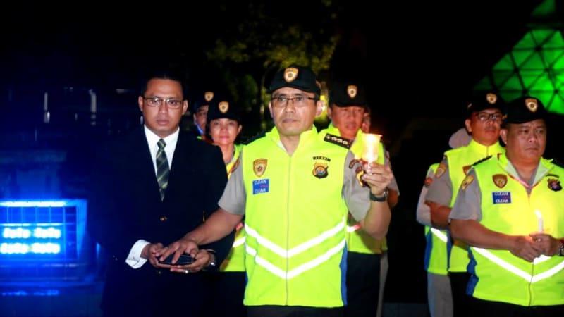 Jajaran SDM Polri Berikrar bebas KKN