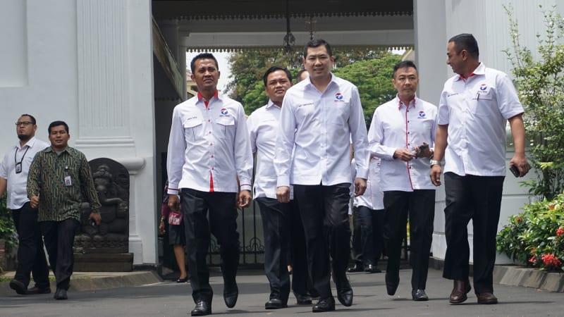 Perindo ke Istana Negara