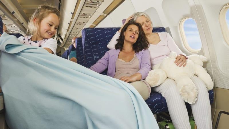 Selimut kabin pesawat