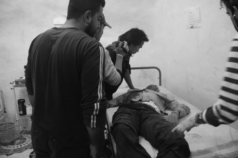 Relawan Indonesia menangani pasien di rumah sakit Suriah