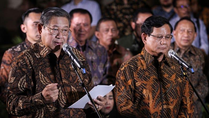 Lipsus, Prabowo Tersandera, Partai Gerindra Prabowo Subianto, SBY
