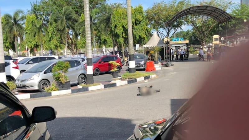 Polri: 4 Teroris Penyerang Mapolda Riau Tewas Ditembak, 1 Ditangkap