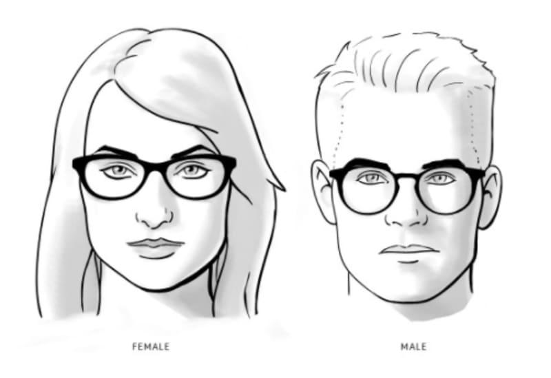 Pilihan Kacamata Berkualitas dan Pelayanan Terbaik di Optik Tunggal - Kesehatan Mata vs Fashion - Wajah Kotak
