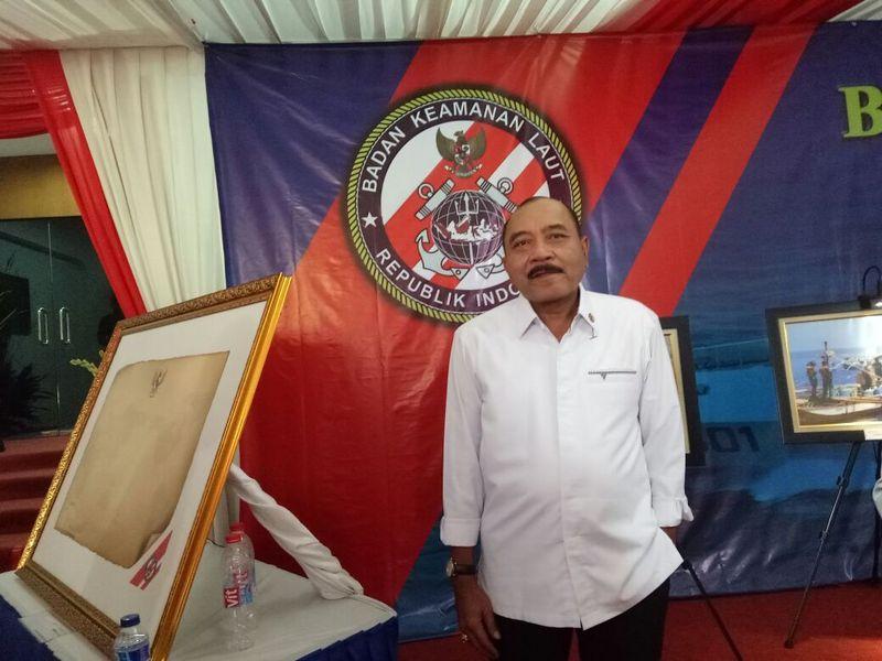 Kepala Badan Keamanan Laut (Bakamla) Arie Soedewo