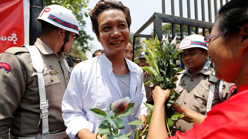 Pelepasan Tahanan di Myanmar
