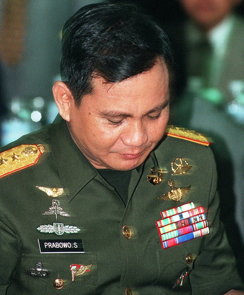 Gambar Prabowo Subianto Kopassus