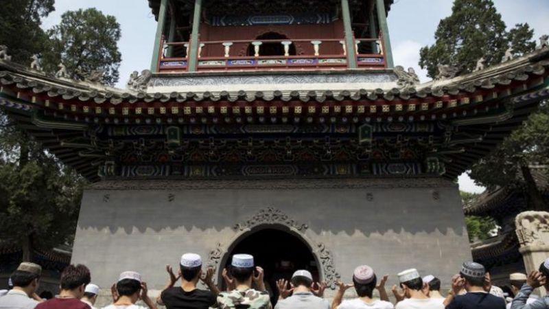 Salat Id di Masjid Niujie Beijing