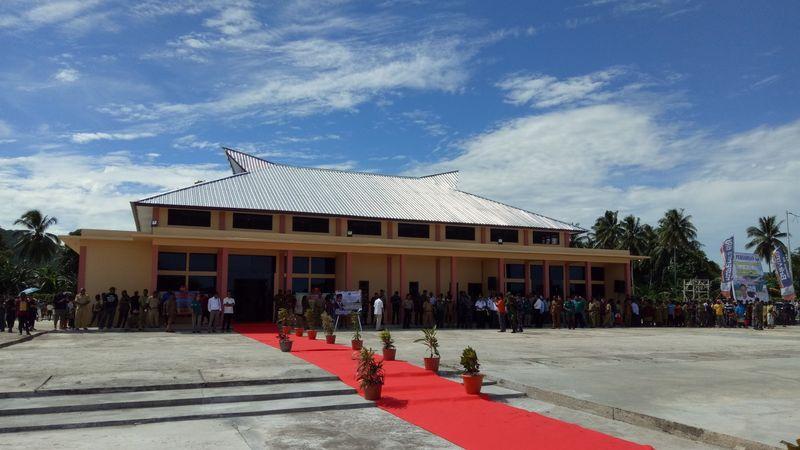 Bandara Werur di Kabupaten Tambrauw,  Papua Barat